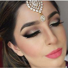 Gold Tikka earrings Hair tikka indian jewelry kundan maang pati hijab pin wedding jewellery hijab jewels headpiece matha pati sadiiyah model