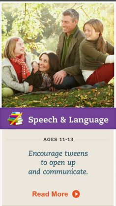 Encourage better communication with your tween with these tips. Click for more. #SpeechandLanguage