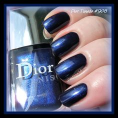 Nail of the Day: Dior Tuxedo #908 | Pointless Cafe