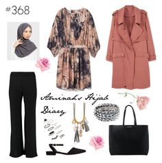 """""""#368 Back to Life"""" by aminahs-hijab-diary ❤ liked on Polyvore featuring MANGO, Majique and Topshop"""
