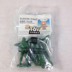 Disney Toy Story Army Men Figures 1995 Burger King Kids Premium Cake Toppers NIP | eBay