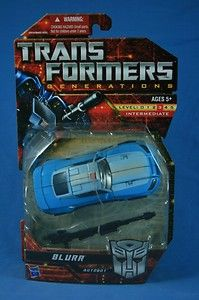 Transformers Generations Blurr Deluxe MOSC 2011 (Sold!)
