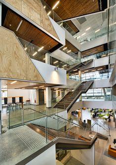 Galería - Edificio de servicios estudiantiles Ngoolark / JCY Architects and Urban Designers - 14