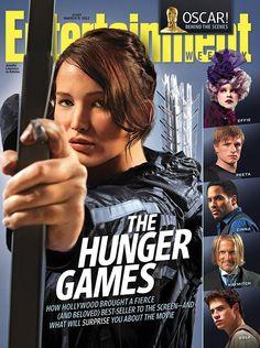 Nueva Portada de la revista EW dedicada a The Hunger Games (Los Juegos del Hambre)