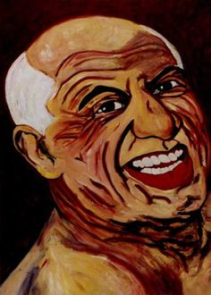 "Saatchi Art Artist CARMEN LUNA; Painting, ""31-PICASSO por Carmen LUNA. (77 años)"" #art"