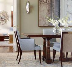 #interiordesign #interiors #design {via Lombards Fine Furniture - Thomas Pheasant Dining Set*}