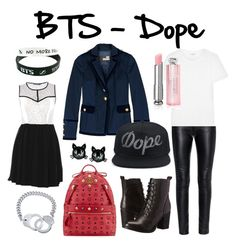 """""""BTS - Dope"""" by luhunnie on Polyvore"""