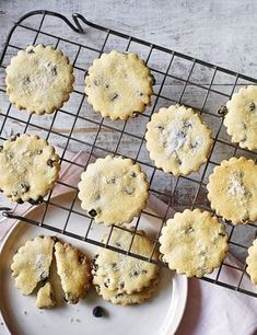 Easter biscuits from Mary Berry full of currants and lemon zest!