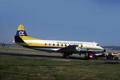 010 Vickers Viscount V708  G-ARBY Alidair Scotland Aberdeen Airport