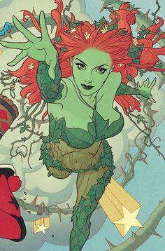 Poison Ivy Comic, Poison Ivy Dc Comics, Dc Poison Ivy, Poison Ivy Character, Comic Character, Harley Quinn Comic, Joker And Harley, Dc Comic Books, Comic Book Covers