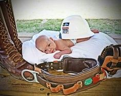 More Idea's for Lineman Baby Pictures
