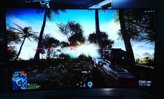 There are no words for Battlefield 4 on the LG 65-inch 4K OLED TV. But I do need new pants. More: http://www.tweaktown.com
