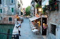 Great local food, Venice, Italy