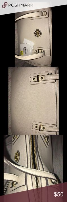 Brand NEW Anne Klein Purse Cream & gold purse Anne Klein Bags Clutches & Wristlets