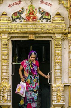 Woman and God , India