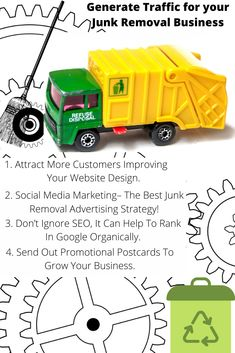 Looking for junk removal marketing ideas, strategies, tips, or plan? We got all for you!   #ThursdayThrowback #BusinessGrowth #BusinessModel #Ideas #MarketingTrends #Remove #CleanUp #Strategies #SEO #garbage #waste #WasteManagement #wastedonsome