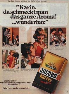 Vintage German coffee ad