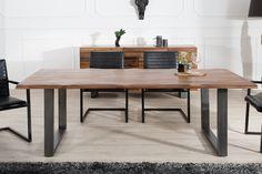 Jedálenský stôl GENESISE 200 cm - akácia, hnedá
