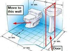 9 Best Bathroom Dimensions Images On Pinterest Bathroom Bathroom Ideas And Washroom