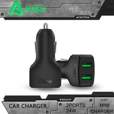 Accessories & Parts Mini Car Usb Chargers With Led Soft Light 5v 2.4a Quick Charge Mobile Phone/tablet/driving Recorder/game Machine Fast Charging Delicacies Loved By All Consumer Electronics