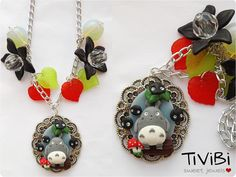 My neighbor Totoro necklace by TiViBi on Etsy, €14.95