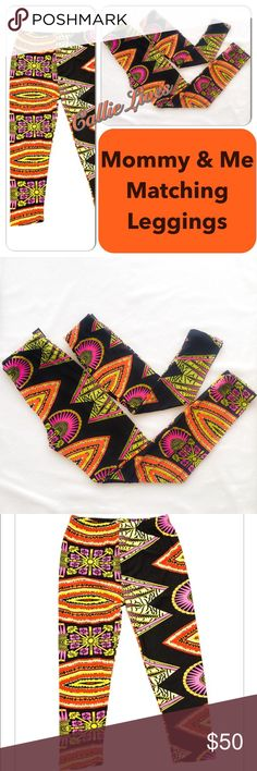 f3c4dc7eaab4 Plus Size Mommy Me Matching Leggings African Art Women s  Plus One Size  1X-3X Waist 14