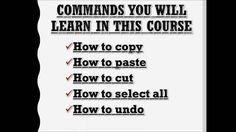 Copy and Paste Promo Video Free Courses, Online Courses, Training Classes, Past, Technology, Education, Learning, Tech, Past Tense