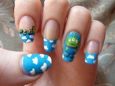 disney nail art   Toy Story