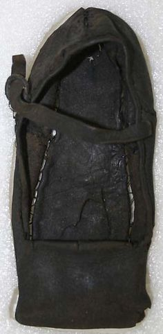 Date: 16th century Culture: probably British Medium: leather Dimensions: Length: 7 in. (17.8 cm)