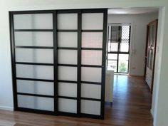 Room Divider Ideas Bedroom, Ikea Room Divider, Hanging Room Dividers, Bedroom Doors, Diy Bedroom, Door Dividers, Sliding Room Dividers, Space Dividers, Temporary Door