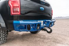 Bodyguard Bumpers rear bumper on 2016 Ford F-150