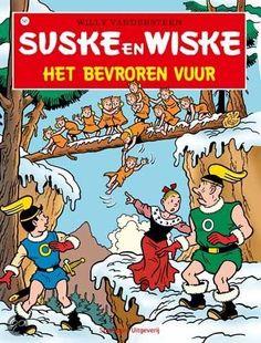 Suske en Wiske / 141 Het bevroren vuur
