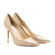 mytheresa.com - Jimmy Choo - ABEL GLITTER FABRIC PUMPS - Luxury Fashion for Women / Designer clothing, shoes, bags
