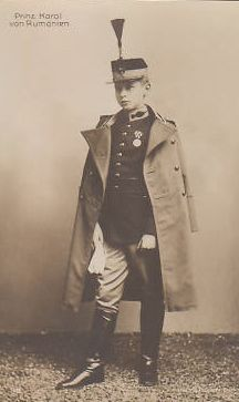 Young Prince Carol of Romania in parade uniform - RARE pcd Romanian Royal Family, Young Prince, Descendants, Riding Helmets, Royalty, Edinburgh, Queens, Antique Post Cards, Royals