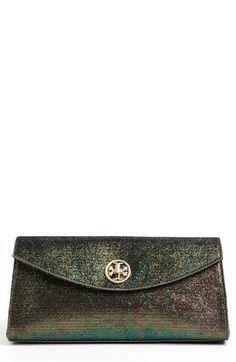c1ee248195 'Austin' Iridescent Flap Clutch by Tory Burch Beautiful Handbags,  Iridescent, Dress Me