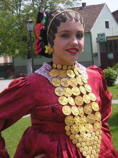 Croatian traditional clothing - Region Slavonia