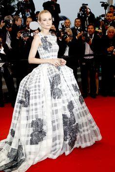 Diane Kruger in Dior a Cannes