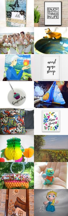 Fleeting Summer by Cris on Etsy--Pinned+with+TreasuryPin.com