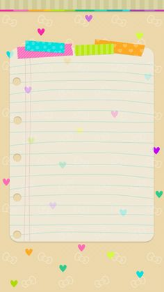 Cute Wallpaper Backgrounds, Cute Wallpapers, Iphone Wallpaper, Lila Baby, Project Life Cards, Cute Notes, Instagram Frame, Hello Kitty Wallpaper, Stationery Paper