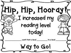 FREEBIE!!! Reading Certificate..Award your kiddies with this certificate anytime they increase their reading level! It excites and encourages them. It is also a great way to make sure parents know that their student has increased their reading level.  I have included a black and white version which you can use to print on colored paper.  I have also included a colored version to print on white paper.