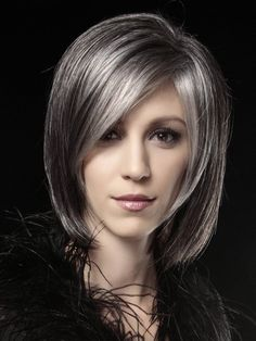 Grey Hair Color Trends to Use in 2016 | New Hair Color Ideas & Trends for 2016 / 2017