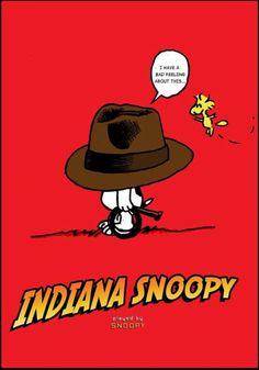 Indiana Snoopy
