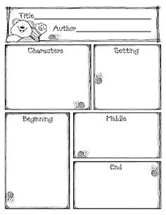 Reading Comp Worksheet: Characters, Setting, Sequence