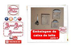 Embalagem de caixa de leite 4 http://amocarte.blogspot.com.br/