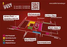 Wo passiert was am Stadtfest in Korneuburg. www.stadtfest-korneuburg.at