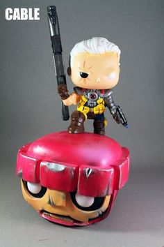 Custom Funko Pop Cable vs Sentinel