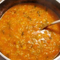 Soupe jardinière à l'orge Great Recipes, Favorite Recipes, Healthy Recipes, Healthy Food, Canadian Food, Canadian Recipes, Melting Pot, Caramel, Recipies