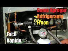 Como Cargar Gas A Un Refrigerador Simple