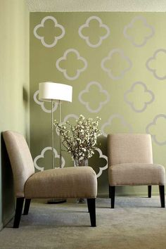Moroccon Morif Pattern   Vinyl Wall Decal   Large Wall Stickers Set Of 36.  $49.95