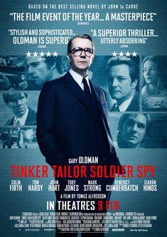 Tinker Tailor Soldier Spy - Le film d'espionnage réunissant la crème des acteurs britanniques avec un Gary Oldman au sommet.